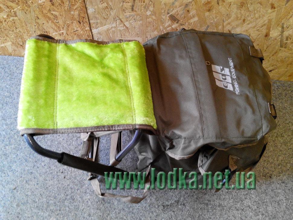 рюкзак и стульчик в одном для рыбалки
